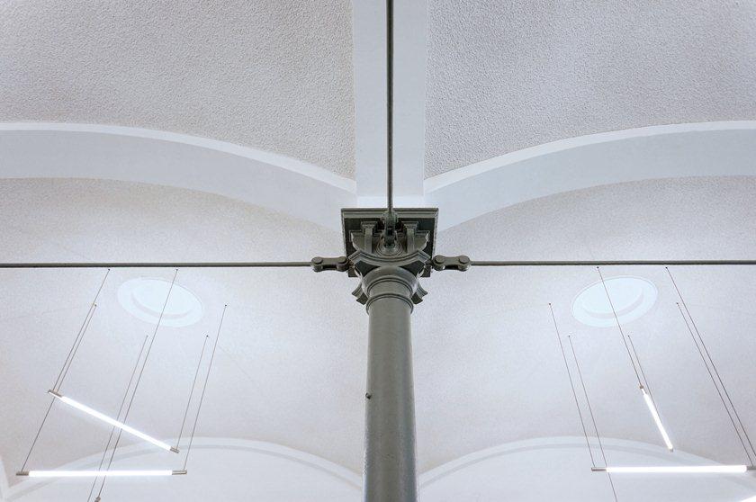 Schlachthof Karlsruhe - Kaldaunenwaesche Deckendetail