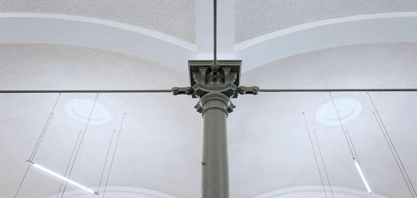 Schlachthof Karlsruhe - Detail Innenstuetze
