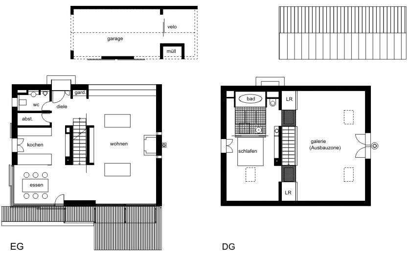 Grundrisse fur wohnhaus mit einliegerwohnung ihr for Grundriss wohnhaus