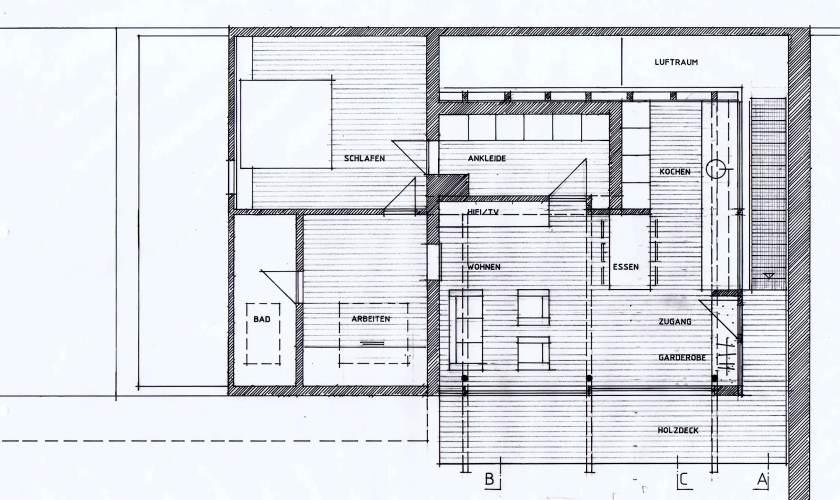 scheunenumbau karlsruhe groetzingen grundriss. Black Bedroom Furniture Sets. Home Design Ideas
