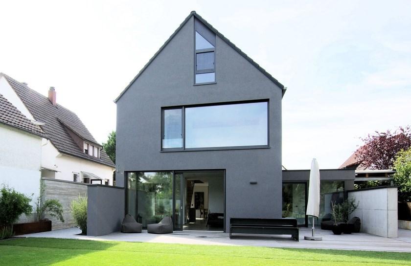 Wohnhaus M, Gartenansicht