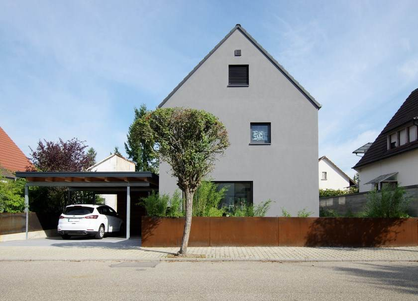 Architektenhaus Karlsruhe, Strassenansicht