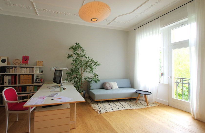 Umbau Sanierung Stadthaus Karlsruhe - Zimmer OG