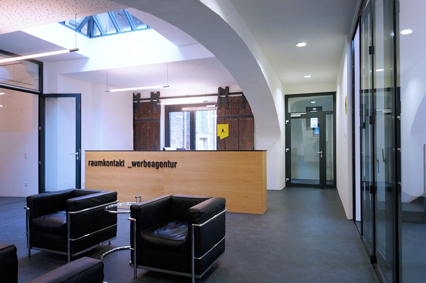 Schlachthof Karlsruhe - Kaldaunenwaesche Foyer2