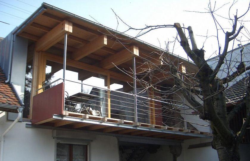Umbau Scheune Karlsruhe - Groetzingen Ansicht