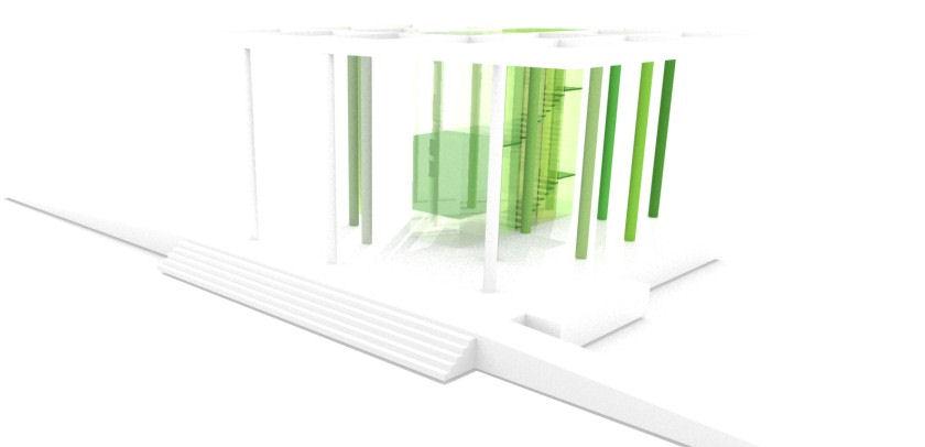 Landesgartenschau 2014 - Entwurf des Zugangs