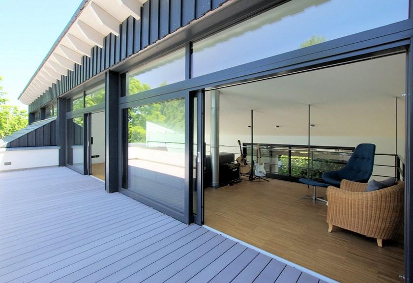 Wohnhaus K, Dachterrasse